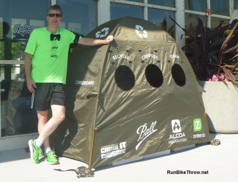 Me at Red Carpet Run 2016 with Zero Hero tent