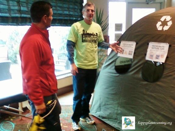 A2 Marathon Expo - Zero Hero Tent
