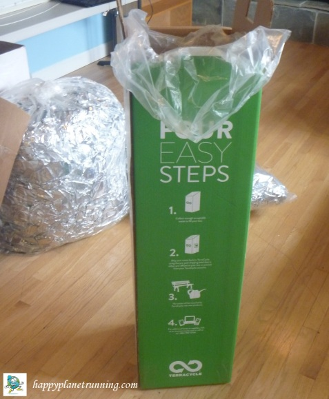 A2 Marathon 2017 - TerraCycle box for heat blankets