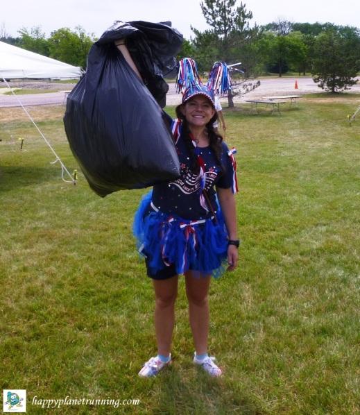 Liberty Festival 2017 - Single bag of trash