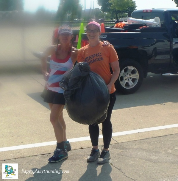 Detroit Womens Half - single baq of trash