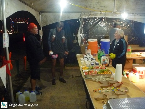 Run Woodstock 2017 - Friday night aid station 2