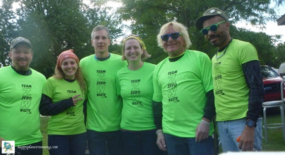 Run Woodstock 2017 - Saturday Zero Waste team
