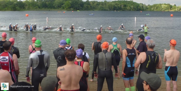 T-Rex 2017 - Start of swim