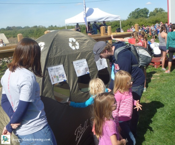 Scrumpy 2017 - kids checking out tent
