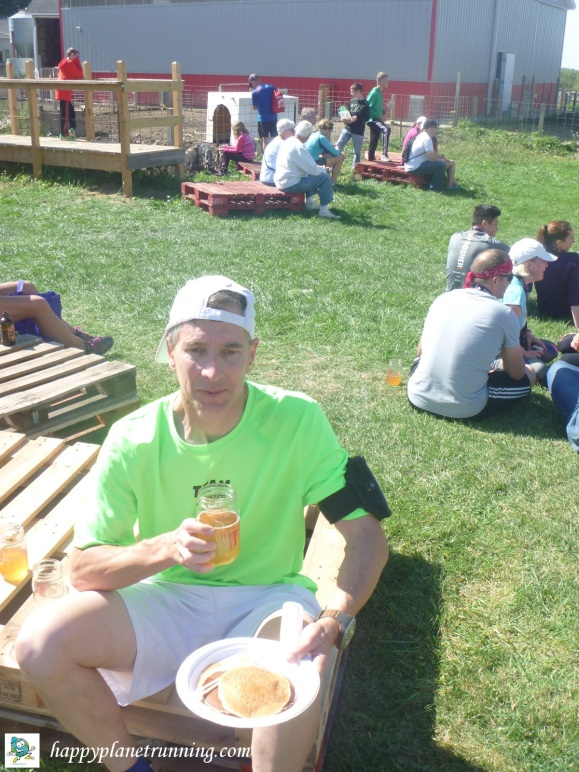 Scrumpy 2017 - Me with pancakes and cider