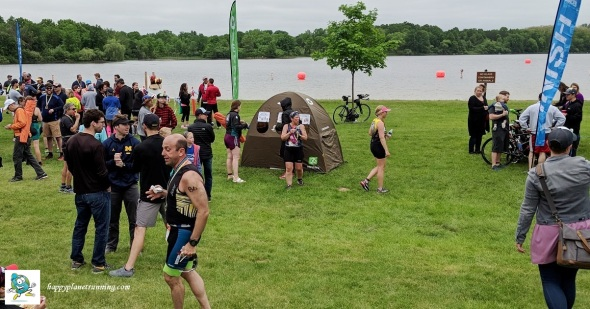 Island Lake Triathlon 2018 - Tent by finish area in use.jpg