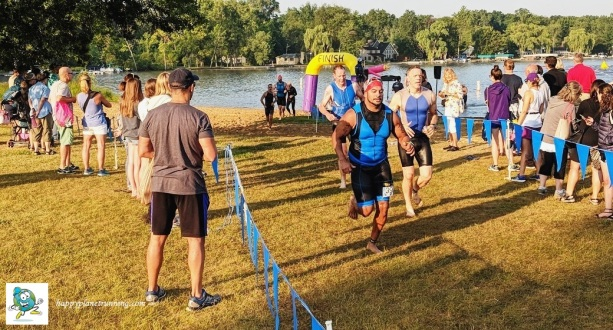 Ann Arbor Triathlon 2018 - Swim to Run