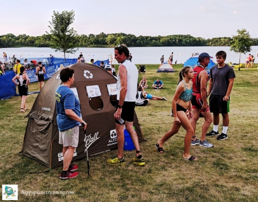 Pterodactyl 2018 - Jennette helping someone at tent