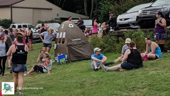 Vines 2018 - tent in party area with Cici