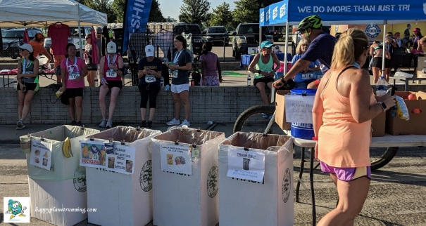 Detroit Womens Half 2018 - waste station