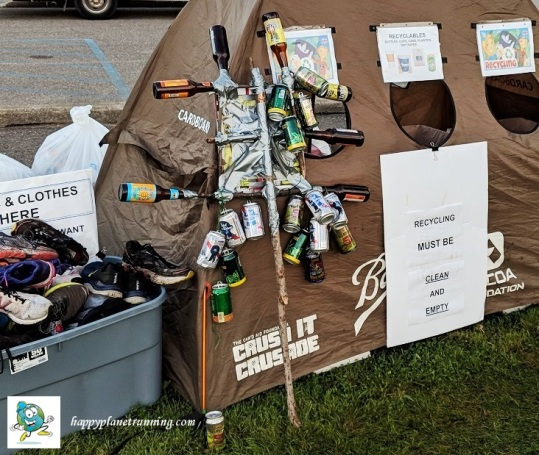 DWD Hell 2018 - Bottle sign thing left behind