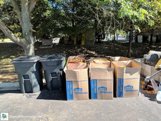 DWD Hell 2018 - Collected compostables