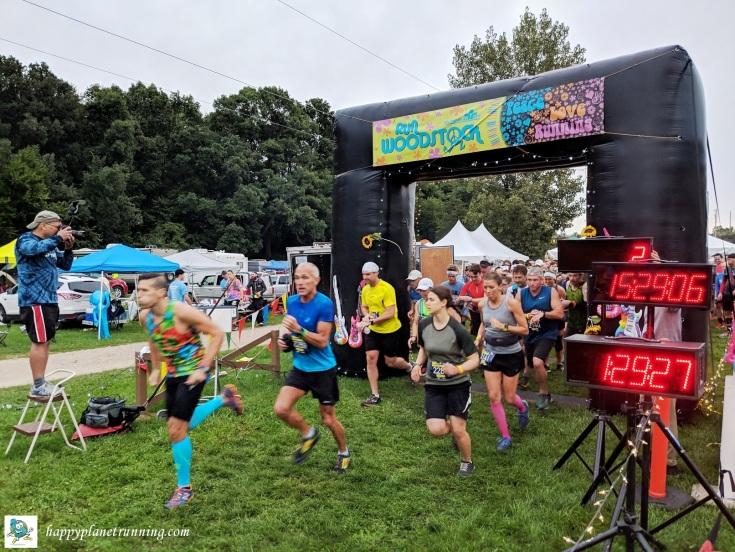 Run Woodstock 2018 - Half marathon start