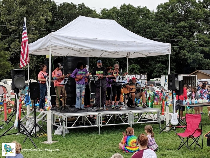 Run Woodstock 2018 - Ukelele band