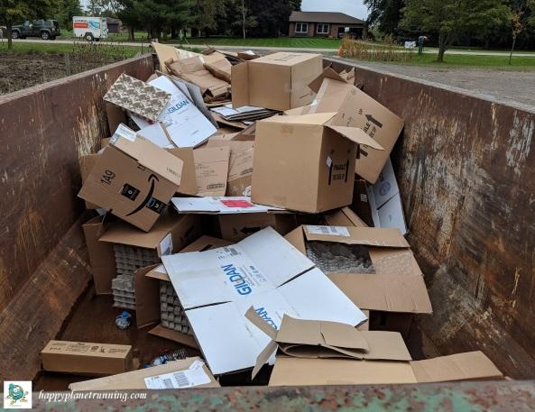 Scrumpy 2018 - Cardboard in rolloff