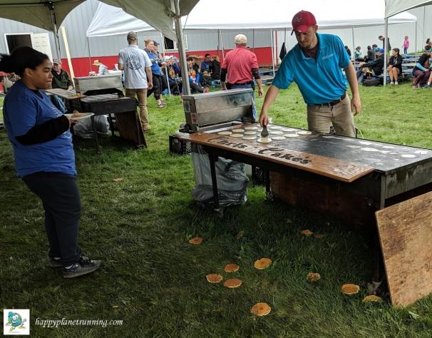 Scrumpy 2018 - Pancakes on ground