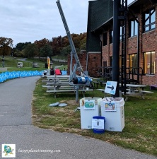 Hot Cocoa Classic 2018 - 2nd waste station by finish