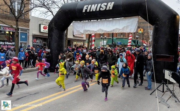 RF Turkey Trot - Start of kids race