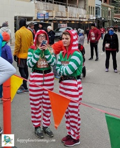 RF Turkey Trot - Xmas elf costumes