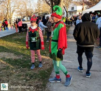 Holiday Hustle 2018 - Elf costumes