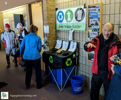 frosty freestyle 2019 - zero waste station in middle