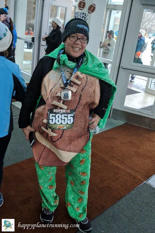 Super 5K 2019 - Alicia in costume