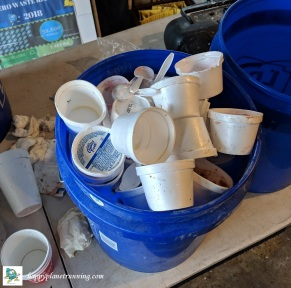 Shamrocks and Shenanigans 2019 - Pail of Styrofoam cups