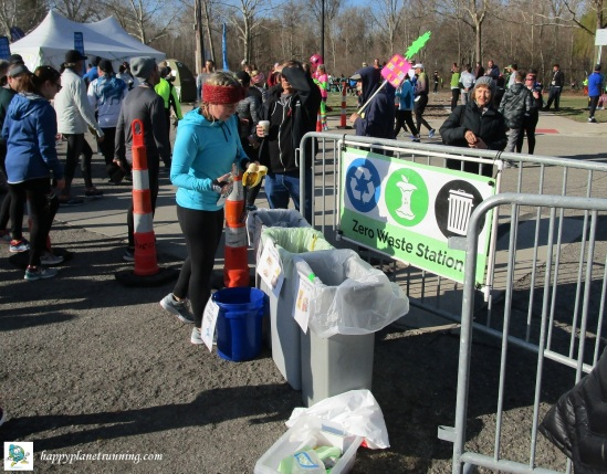 Martian 2019 - Finish Line waste station in use
