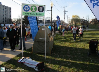 Martian 2019 - Tent along starting line