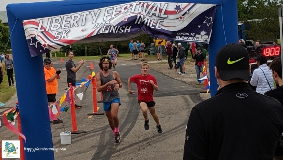 Canton Liberty Run 2019 - Sprint to the 5K finish
