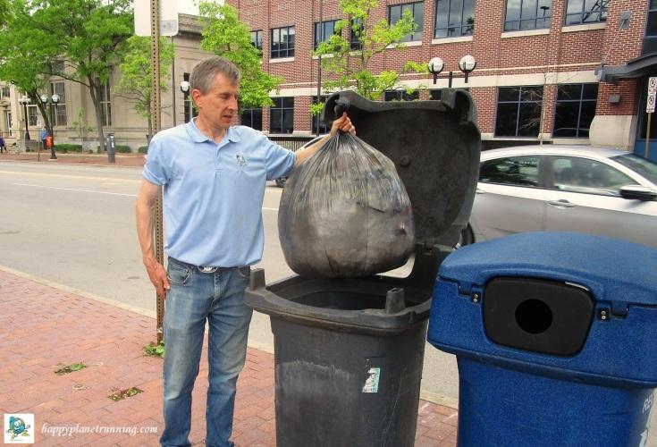 DXA2 2019 - Single bag of trash
