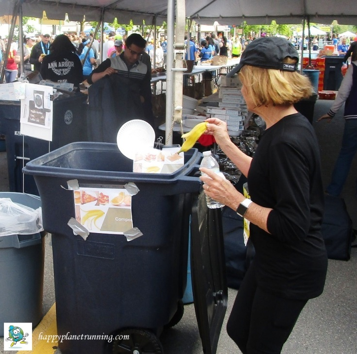 DXA2 2019 - Someone using a compost bin