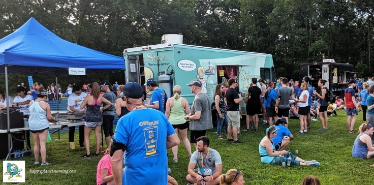 Oberun Ypsi 2019 - Busy food trucks