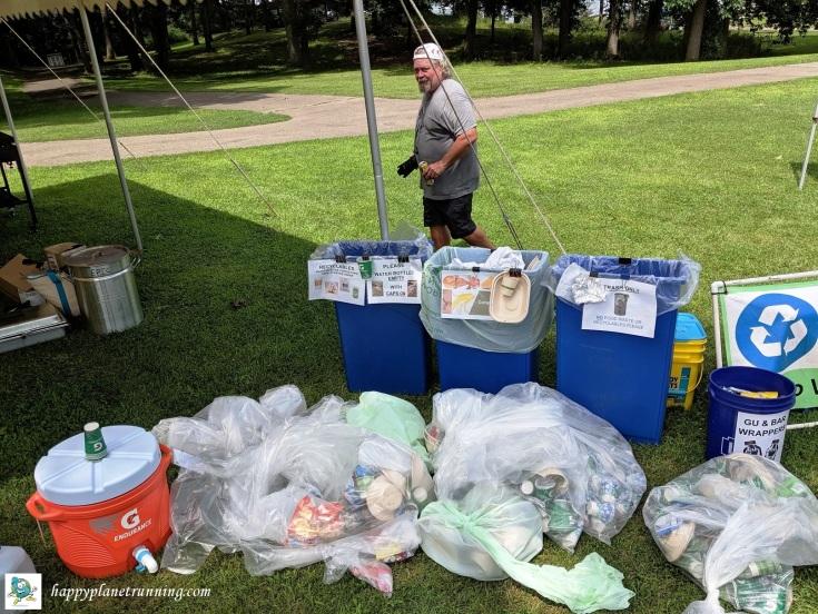 Battle of Waterloo 2019 - Aid station waste