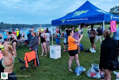 Swim to the Moon 2019 - All Waste bin in vendor area
