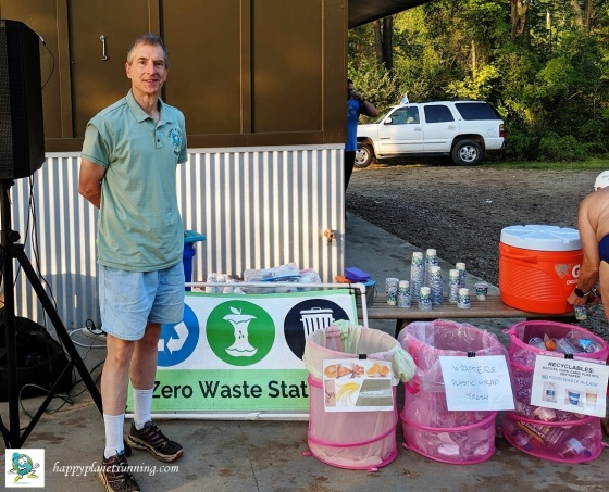 Swim to the Moon 2019 - Me at North Star Reach waste station