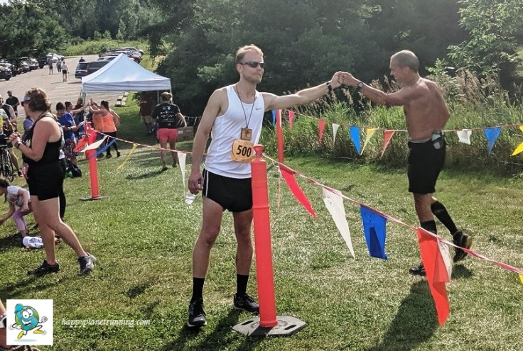 The Legend 2019 - Guy giving fist bumps