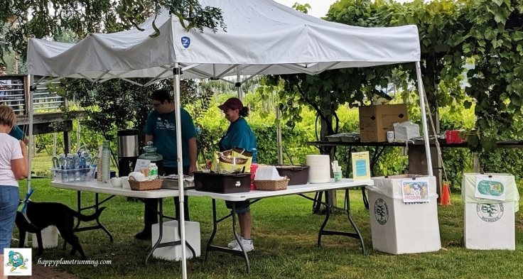 Vines 2019 - Coffee and sandwich station