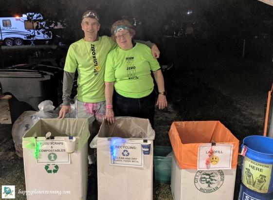 Run Woodstock 2019 - Joyce and me at main ultra station