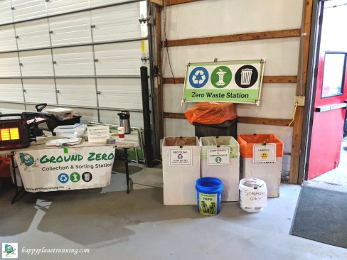 Go Apples 2019 - Waste station and Ground Zero near barn enstrance