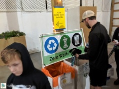 Go Apples 2019 - Waste station near bathrooms