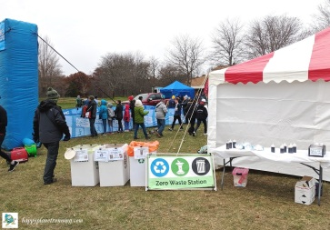 A2 Turkey Trot 2019 - waste station 4 - food tent