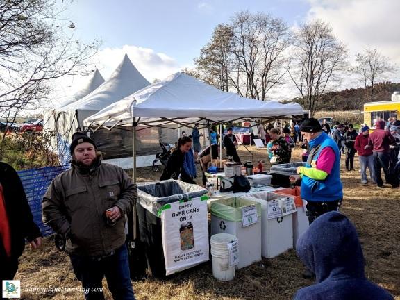 Bonfyre 2019 - central waste station