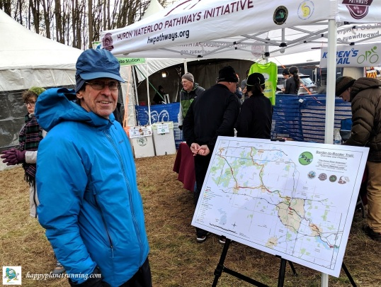 Bonfyre 2019 - Lew shows newest HWPI trail plans