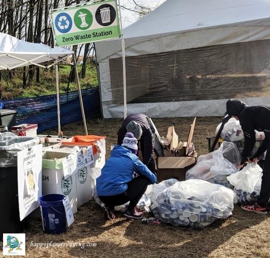 Bonfyre 2019 - sorting aid station bags