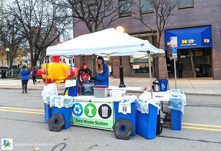 RF Turkey Trot 2019 - Zero Waste station