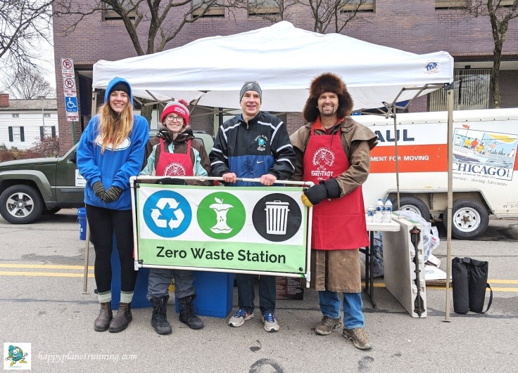 RF Turkey Trot 2019 - Zero Waste team